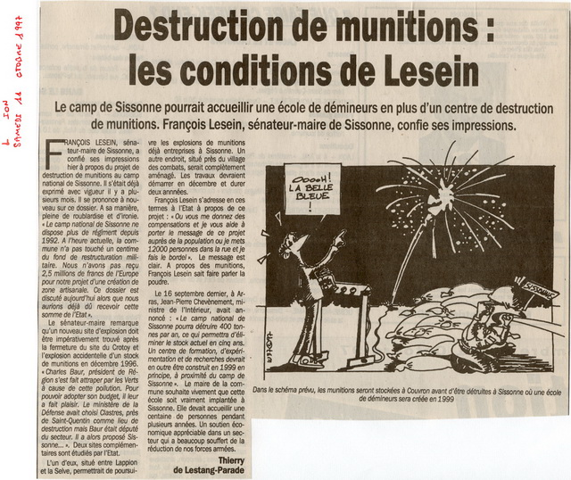 L'Union - 11 octobre 1997