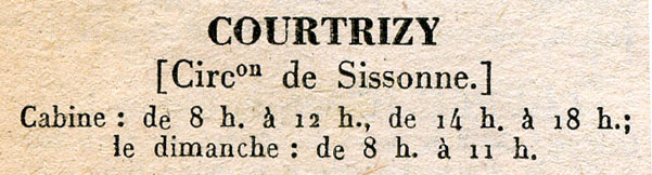Courtrizy-et-Fussigny