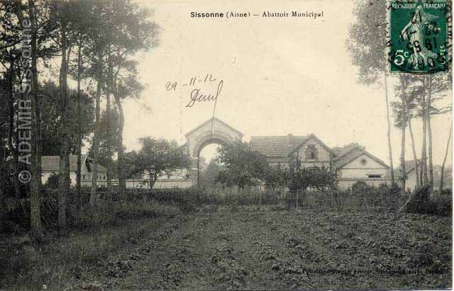 L'abattoir municipal en 1912