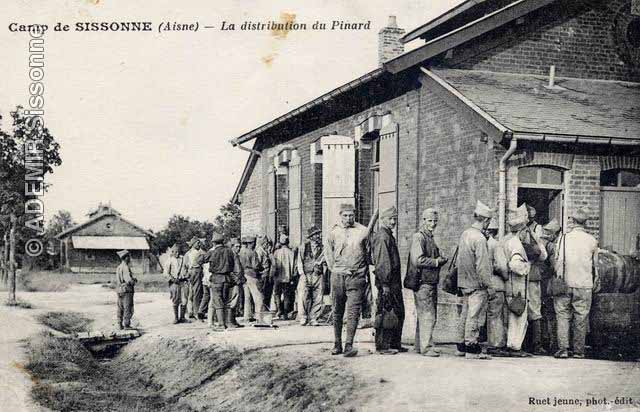 Distribution de pinard