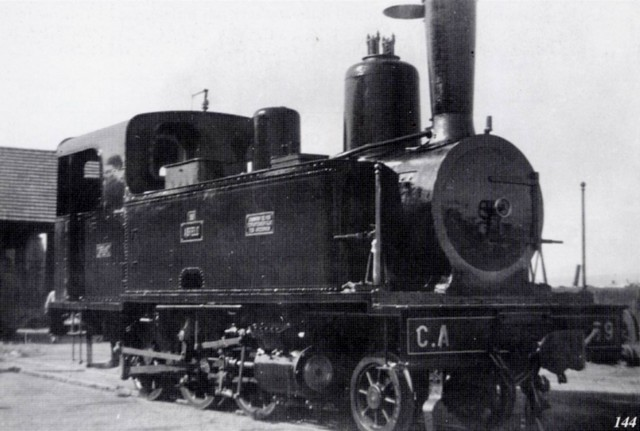 Locomotive 130 T - voie 1 M  1<sup>ère</sup> série<br><small>Photo Hubert MOZAIVE</small>